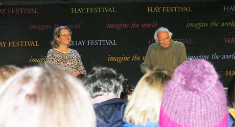 Hay Festival, in Hay on Wye on May 29th 2015